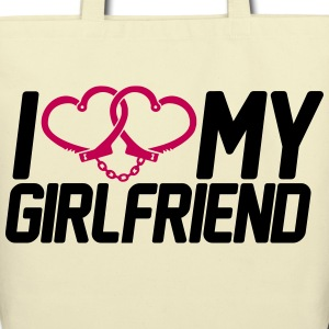 I Love my Girlfriend Bags  - Eco-Friendly Cotton Tote
