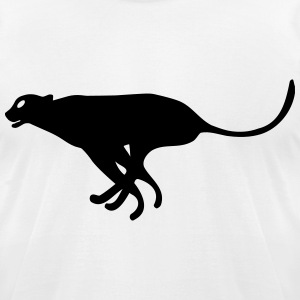cheetah T-Shirts - Men's T-Shirt by American Apparel