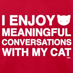 Meaningful Convos Cat Versus Humans mp T-Shirts