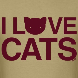 love cats Cat Versus Humans mp T-Shirts - Men's T-Shirt