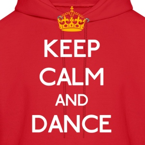 Keep Calm And Dance mp Hoodies - Men's Hoodie