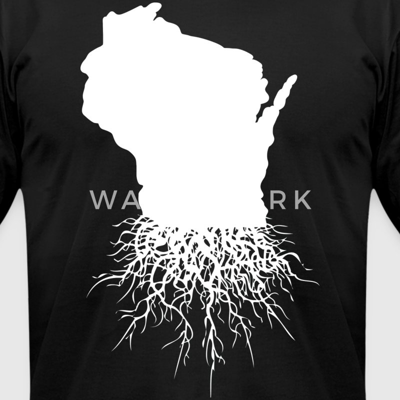 Wisconsin Roots Milwaukee Mart T-Shirts - Men's T-Shirt by American Apparel