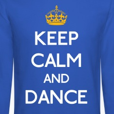Keep Calm And Dance mp Long Sleeve Shirts