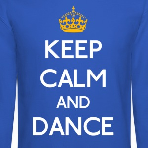 Keep Calm And Dance mp Long Sleeve Shirts - Crewneck Sweatshirt