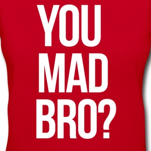 SWAG You Mad Bro? mp Women's T-Shirts - Women's V-Neck T-Shirt