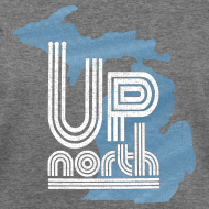 Design ~ Retro Up North Women's Wide Neck Sweatshirt