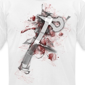 Assassin's Tomohawk - Men's T-Shirt by American Apparel