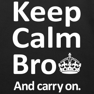 Keep Calm Bro And Carry On Bags  - Eco-Friendly Cotton Tote