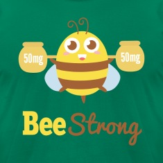 Motivational cartoon to bee strong T-Shirts