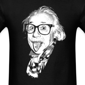 Hipster Einstein T-Shirts - Men's T-Shirt