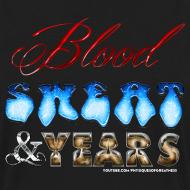 Design ~ Blood Sweat & Years SWEATER
