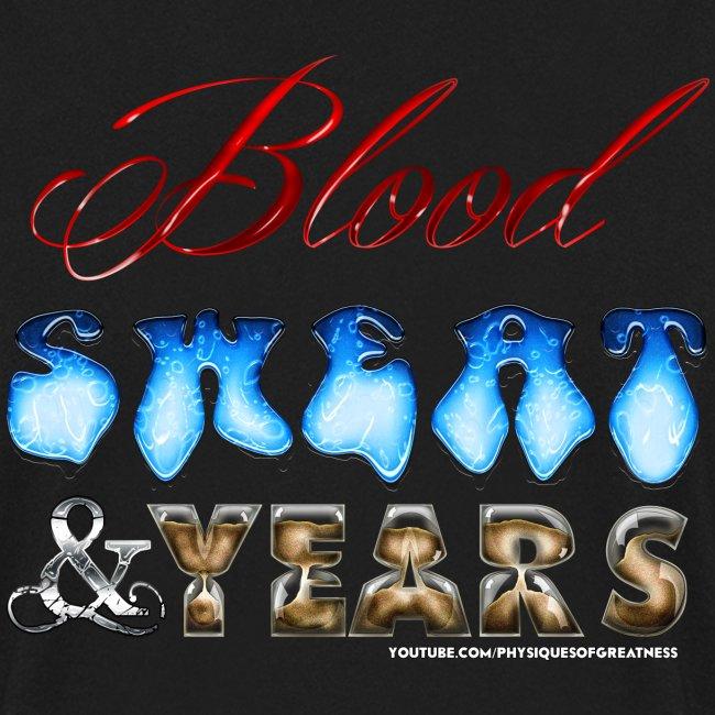 Blood Sweat & Years SWEATER