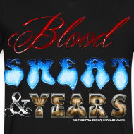 Design ~ Blood Sweat & Years VNECK