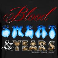 Design ~ Blood Sweat & Years VNECK