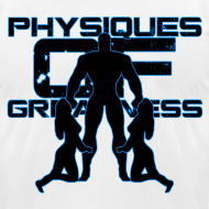 Design ~ Muscle Worshiper Front Only (Blue)