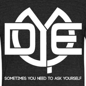Do You Even Logo Sometimes You need to ask mp T-Shirts - Unisex Tri-Blend T-Shirt by American Apparel