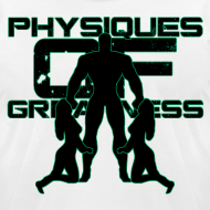 Design ~ Muscle Worshiper Front Only (Green)