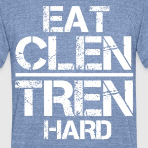 Eat Clen Tren Hard mp T-Shirts - Unisex Tri-Blend T-Shirt by American Apparel