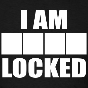 I am ____ Locked (Men's) - Men's T-Shirt