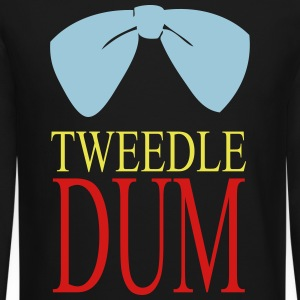 tweedle dum Long Sleeve Shirts - Crewneck Sweatshirt