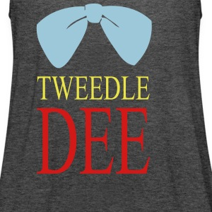 tweedle du Tanks - Women's Flowy Tank Top by Bella
