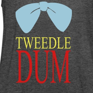 tweedle dum Tanks - Women's Flowy Tank Top by Bella