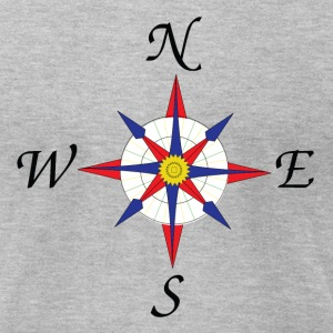 Compass T-Shirts - Men's T-Shirt by American Apparel