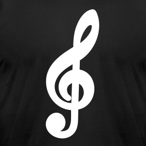 music_note T-Shirts - Men's T-Shirt by American Apparel