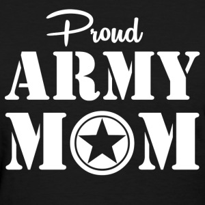 Army Mom - Women's T-Shirt