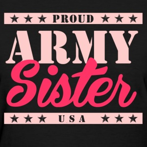 Army Sister - Women's T-Shirt