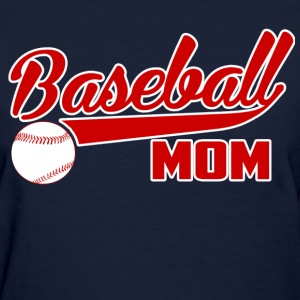 Baseball Mom - Women's T-Shirt