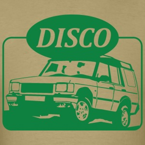 Land Rover Discovery illustration - Men's T-Shirt