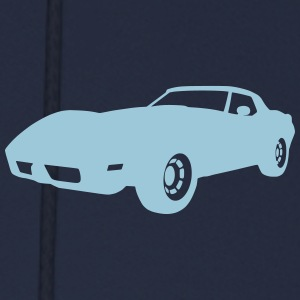 US Classic Car Corvette - Men's Hoodie