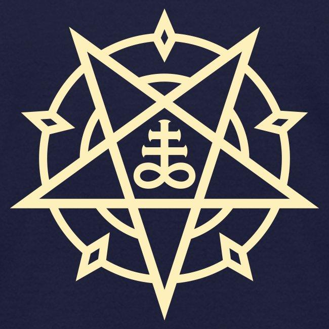 Mysticisland Shirtshop Pentagram Satans Cross No11c