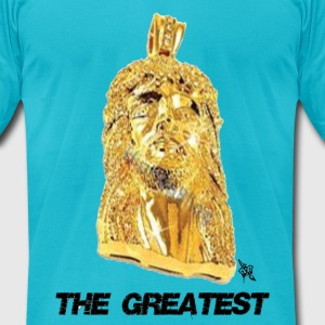 THE GREATEST - Men's T-Shirt by American Apparel