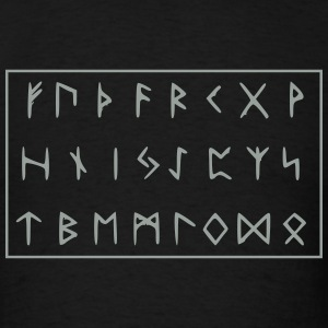 Futhark Runes - Men's T-Shirt