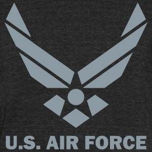 U.S. Air Force T-Shirts - Unisex Tri-Blend T-Shirt by American Apparel