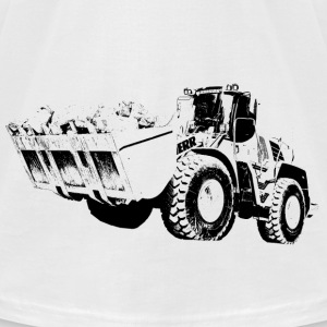 wheel loader T-Shirts - Men's T-Shirt by American Apparel