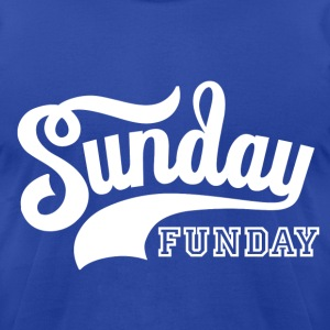 Sunday Funday T-Shirts - Men's T-Shirt by American Apparel