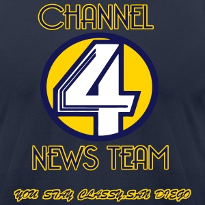 channel4newsteam T-Shirts - Men's T-Shirt by American Apparel