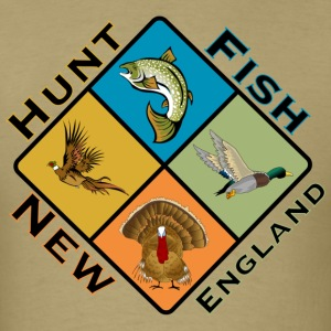 Men's Hunt and Fish New England Tee - Men's T-Shirt