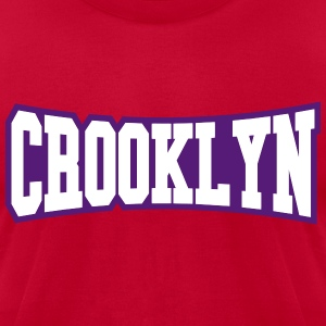 CROOKLYN T-Shirts - Men's T-Shirt by American Apparel