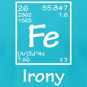 FE Irony T-Shirts - Men's T-Shirt by American Apparel