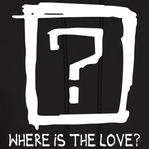 Where is the love Hoodies - Men's Hoodie
