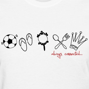 Always connected by alwayscassie Women's T-Shirts - Women's T-Shirt