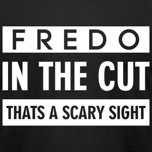 FREDO IN THE CUT THATS A SCARY SIGHT T-Shirts - Men's T-Shirt by American Apparel