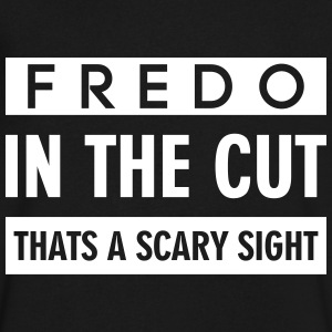 FREDO IN THE CUT THATS A SCARY SIGHT T-Shirts - Men's V-Neck T-Shirt by Canvas