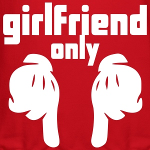 girlfriend only Long Sleeve Shirts - Crewneck Sweatshirt