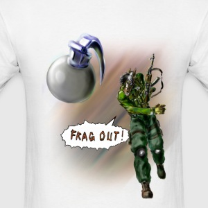 Frag Out!!! T-Shirts - Men's T-Shirt