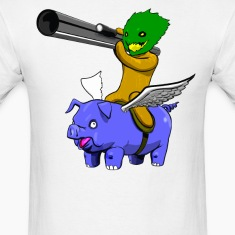 Pigs Fly and Pineapples are Armed with Rockets T-Shirts